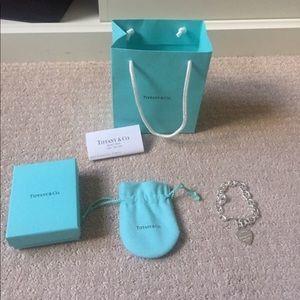 Brand New Tiffany Charm Bracelet
